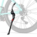 Favoto Bike Kickstand Adjustable Rear Side Mount Bicycle Aluminum Alloy Kickstand Fits 26