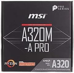 AM4 AMD A320 A320M-A