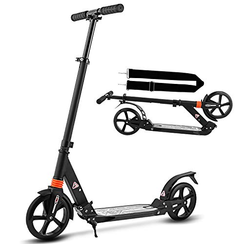 WeSkate Black Travel Scooter