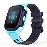 YONTEX 4G Montre Intelligente Enfant GPS Smartwatch Compatible iOS Android Support...