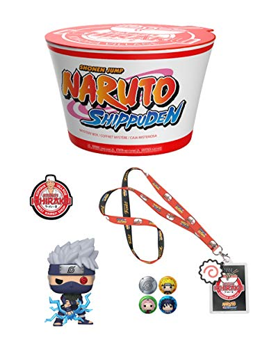 Funko Box: Naruto Shippuden Ramen Shop Konoha Village 4 Pcs (no gamestop)