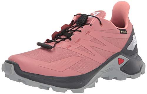 SALOMON Calzado Bajo Supercross Blast GTX, Zapatillas de Trail Running Mujer, BRIC, 41 1/3 EU