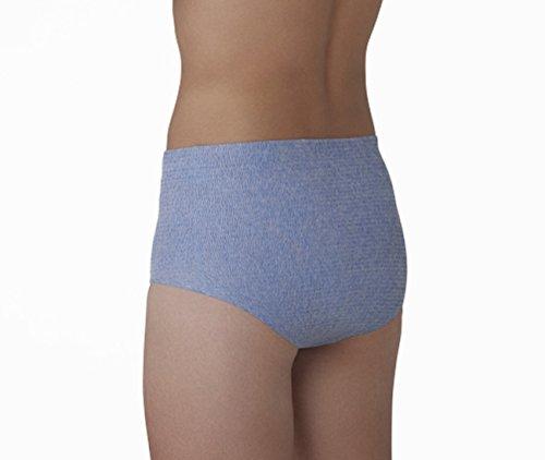 『HASO 紙から生まれた新素材機能性 パンツ+吸水パッド 男性用L~LLサイズ(パンツ5枚+パッド10枚)(ウエスト 75~120cm)』の7枚目の画像