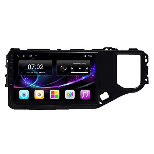 2 DIN Bluetooth Radio Coche Autoradio, con 9 Pulgadas HD Pantalla Táctil, Soporte Bluetooth Manos Libres/Mirror Link/FM/1080P Video/USB, para Chery Tiggo 4X 5X 2019,Quad Core,4G WiFi 2+32