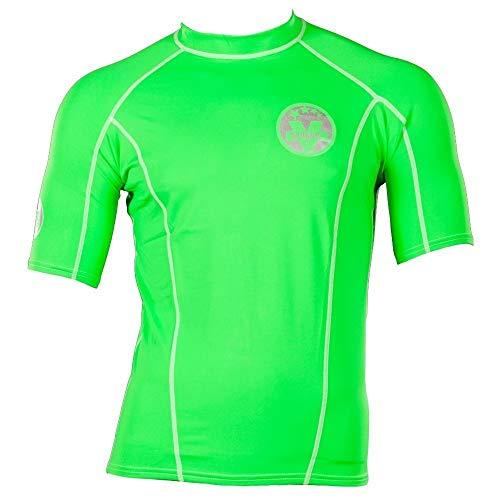 VINC Men Rashguard Blue Herren UV-Schutz Shirt Wassersport (grün, XL)