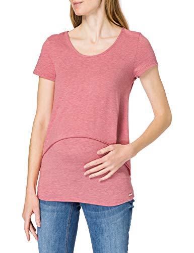Esprit Maternity T-Shirt Nursing SS Camiseta, Rose Scent 663, S para Mujer