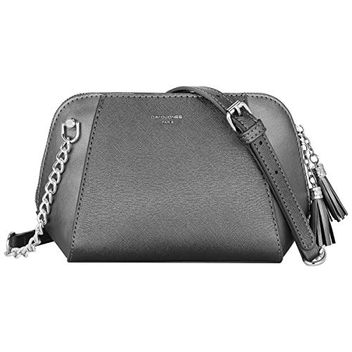 David Jones - Borsa a Tracolla Donna Piccola - Borsetta Spalla Catena...