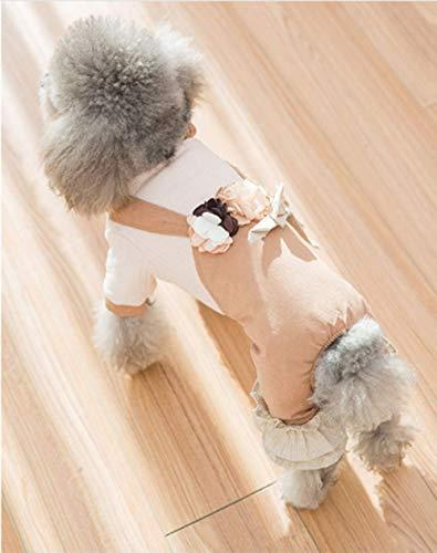 Xihaoer hond pyjama geruite huisdier trui voor winter doggie kleding - zacht warm en mode geschikt voor kleine middelgrote grote honden puppy, M