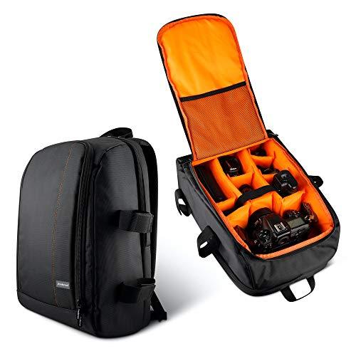 Redlemon Mochila para Laptop y Cámara Fotográfica Premium, con Compartimento para DSLR, Lente, Batería, Cargador y más. Incluye...