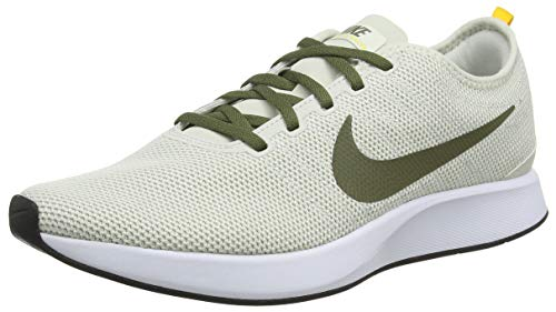 Nike Dualtone Racer, Men's Gymnastics Gymnastics Shoes, Grey (Light Bone/Medium Olive/Amaril 016), 12 UK (47.5 EU)