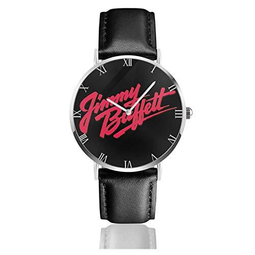 Jimmy Buffett Relojes Unisex Reloj de Moda Ultrafino