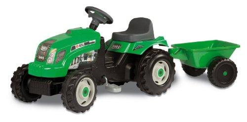 Smoby 7600033329 GM - Trattore con rimorchio, colore: Verde
