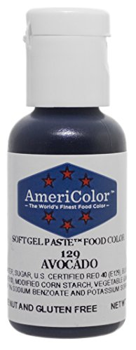 Americolor Soft Gel Paste Food Color.75-Ounce, Avocado Green