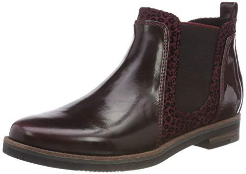 MARCO TOZZI Damen 2-2-25055-21 Chelsea Boots, Rot (Bordeaux A.C. 542), 40 EU