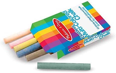 Melissa Doug Multi-Colored Chalk overseas Cheap mail order shopping Sticks