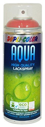 Dupli Color 252464 Acqua Vernice Spray, 350 ml, RAL 3000, Rosso Fuoco Lucido