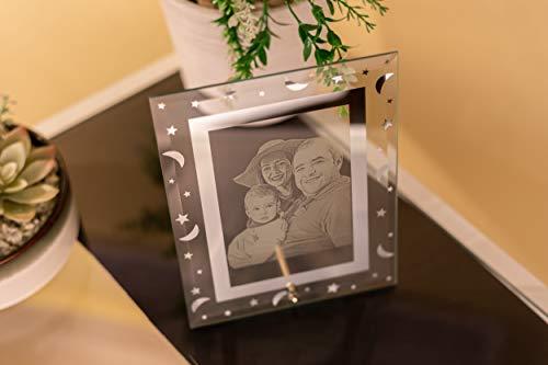 Marco de foto cristal 2D, regalo foto personalizada, regalo amigas, re