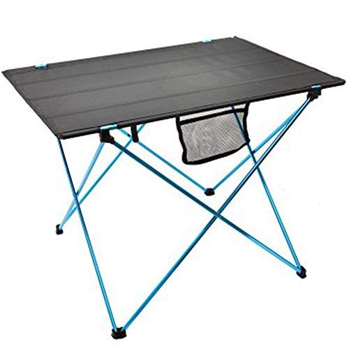 household products Table de Camping Portable, Table Pliante légère, Bureau Compact et Enroulable avec Table de Rangement fourre-Tout, Facile à Installer et à Nettoyer
