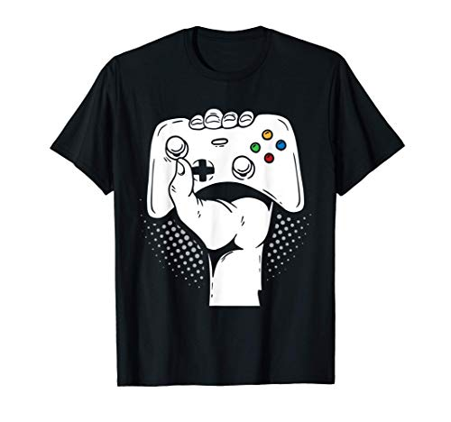 Gamer Fist Console Game Controller Gamepad Cool Gaming Gifts T-Shirt