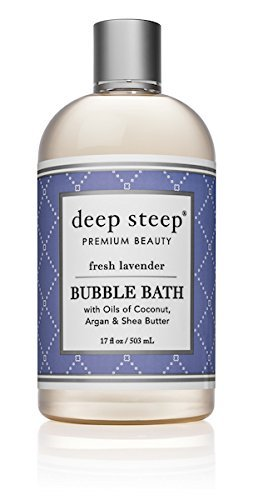 Deep Steep Bubble Bath Fresh Lavender, 17 ounce