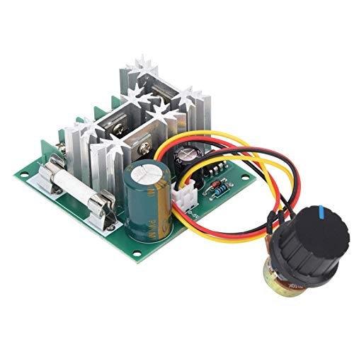 Interruptor de regulación de velocidad PWM de alta eficiencia DC6~90V 0.01~1000W para producción industrial Regulador de velocidad ajustable con fusible