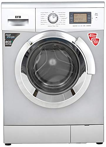 IFB 8 kg Fully-Automatic Front Loading Washing Machine (Senator Aqua SX, Silver, Inbuilt heater,...