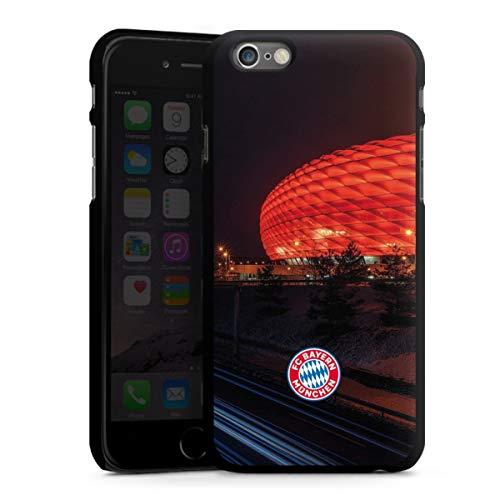 DeinDesign Hard Case kompatibel mit Apple iPhone 6 Schutzhülle schwarz Smartphone Backcover FCB Stadion FC Bayern München