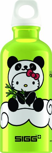 Sigg Kinder Trinkflasche Hello Kitty Panda, Limone, 0.4 l