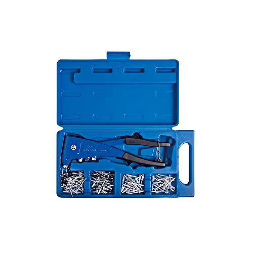 King Tony 212007MR - Caja de clips remachado con remaches ajuste 121