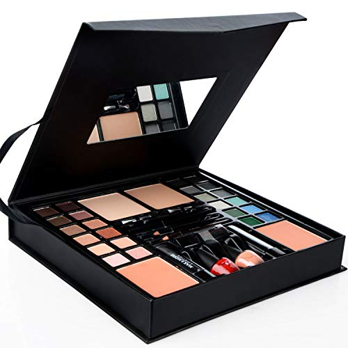 EASYBUY All-in-One Makeup Kit, Starter Makeup Artist Set 24 Colors Eyeshadow Palette,2 Foundations,2...