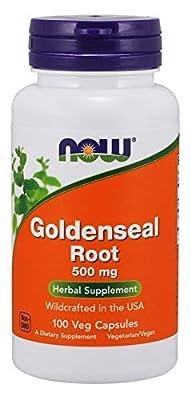 Now Foods Goldenseal Root Capsules, 0.09 kg