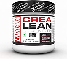 Labrada CreaLean (Post Workout, Sustain longer workout, Muscle Repair & Recovery, 3g Creatine Monohydrate, 83 Servings)...