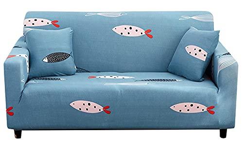 XMJFDMAI Cubre Sof 1 Piezas para Sala,Juego de sofás elásticos Todo Incluido, sofá-Toalla Combinado (sin Funda de Almohada) -A18_90-140cm