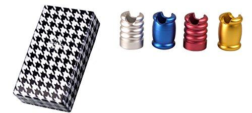 Zigarettenetui Zigarettenbox 100 mm Zigaretten King Size Kunststoff Pepita + Glutkiller - LK Trend & Style