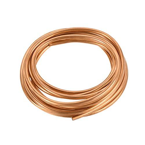 JIAN 1 tubo de refrigeración de 3 mm, 4 mm, 5 mm, 6 mm, 8 mm, diámetro exterior, 1 mm, 6 mm, ID de 9,8 pies, longitud T2, bobina de cobre exquisita (longitud de 3 mm, diámetro exterior de 1 mm)