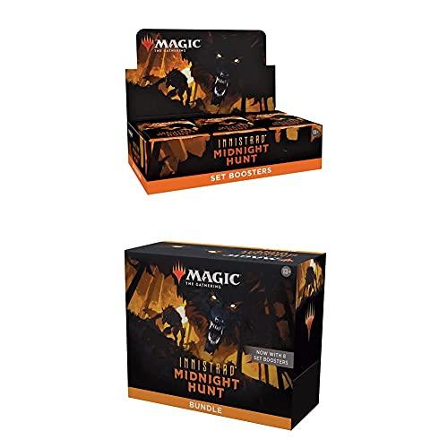 Magic: The Gathering Innistrad: Midnight Hunt Bundle – Includes 1 Set Booster Box + 1 Bundle