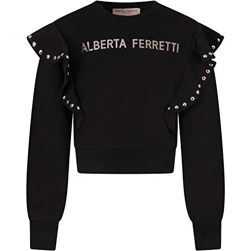 Alberta Ferretti Junior Sudaderas Niña Negro 025338 110 Negro 10 años