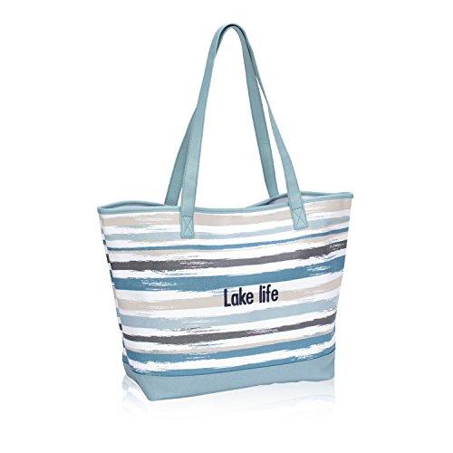 Thirty One Lakeside Tote in Brush Strokes - No Monogram - 8681
