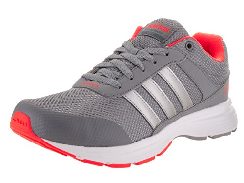 adidas NEO Men's Cloudfoam VS City Shoes (9 D(M) US, Grey/Silver Metallic/White)