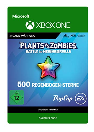 Plants vs Zombies: Battle for Neighborville 500 Rainbow Stars | Xbox One - Download Code