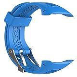 Correa de reloj deportivo de silicona, correa de repuesto para Garmin Forerunner 10 15 GPS reloj de running pequeño/grande con herramientas