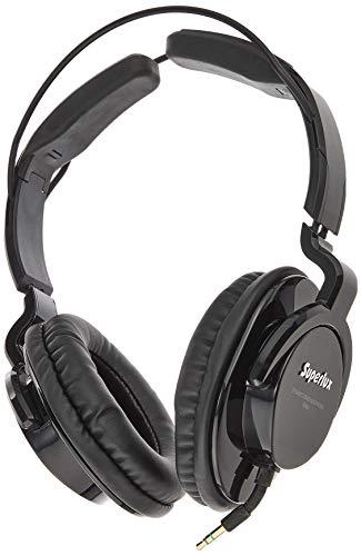 Superlux HD661 komplett geschlossener Kopfhörer schwarz