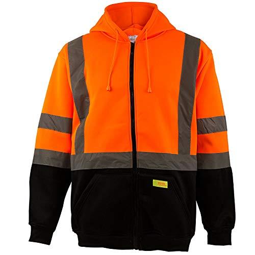 New York Hi-Viz Workwear H9011 Men's ANSI Class 3 High Visibility...