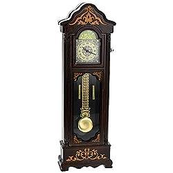 TM Vintage Pendulum Clock Miniature Ornamental Novelty Collectors Desk Clock TM30