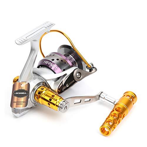 Ecooda Heavy Duty Metal Spinning Jigging Fishing Reels Saltwater Waterproof