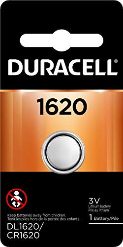 Duracell - 1620 3V Lithium Coin Battery - long lasting battery - 1 count