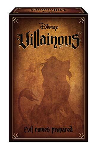 Ravensburger 26291 Villainous Disney Evil Comes Vorbereitetes Kinder und Erwachsene ab 10 Jahren-Kann als eigenständiger oder als Erweiterung Bösewicht-Strategiespiel gespielt Werden,