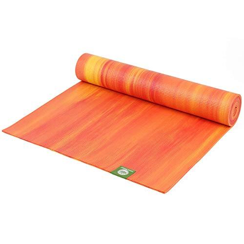 Lotus Design Yogamatte OekoTEX rutschfest, Gute Dämpfung, Bedruckt, Yogamatten mit Muster auch als Pilatesmatte, Fitnessmatte und Gymnastikmatte...