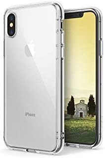 Rearth iPhone X/iPhone XS Ringke Fusion Shock Absorption Case Cover - Clear