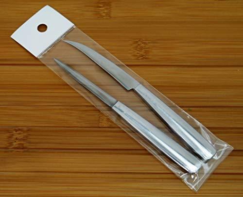 『カービングナイフ2本セット』